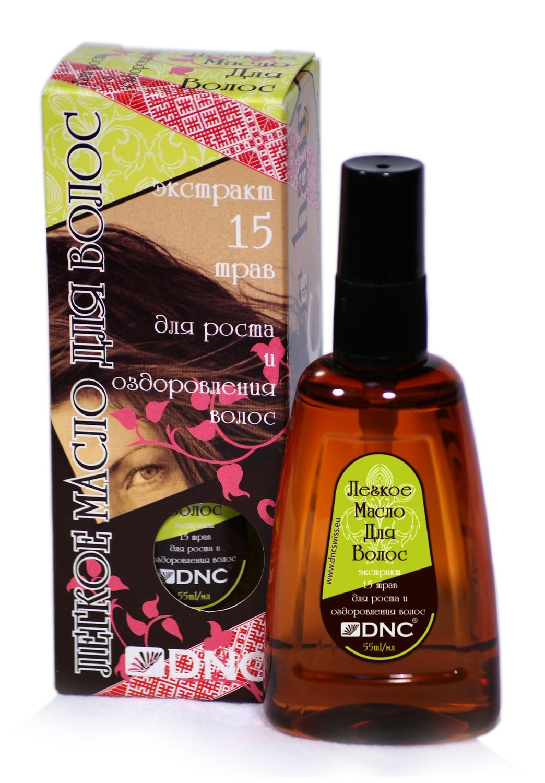 Легкое масло для волос, DNC, 55мл