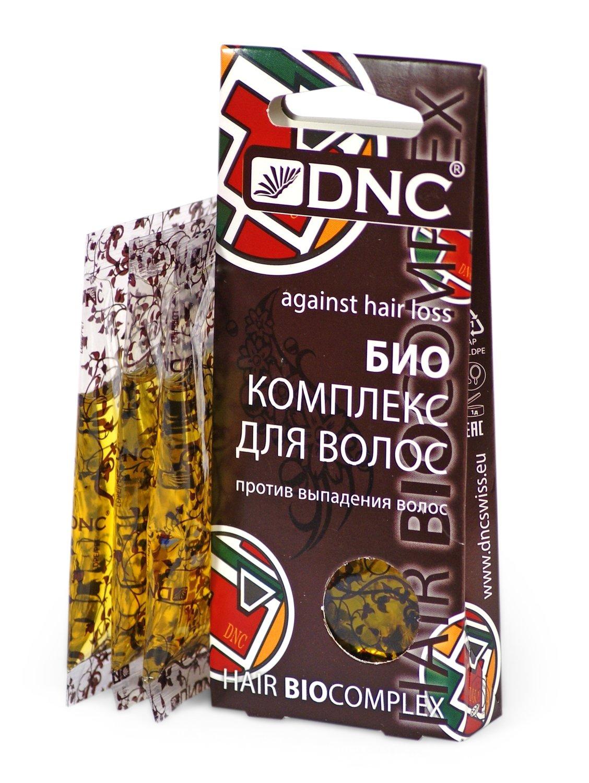 Биоактивный комплекс против выпадения волос, DNC, 3*15мл