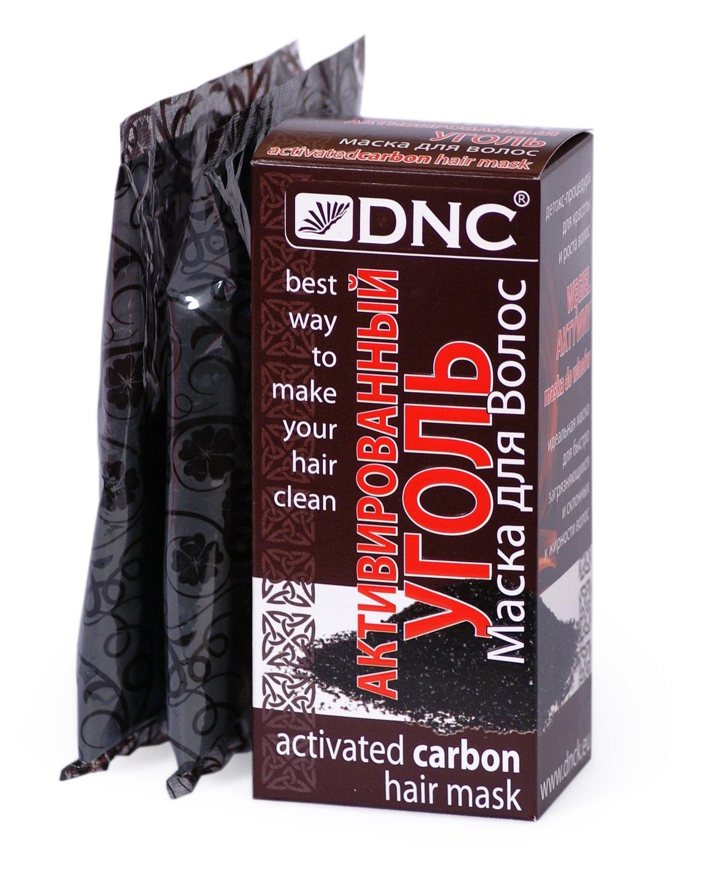 Dnc маска для волос активированный уголь
