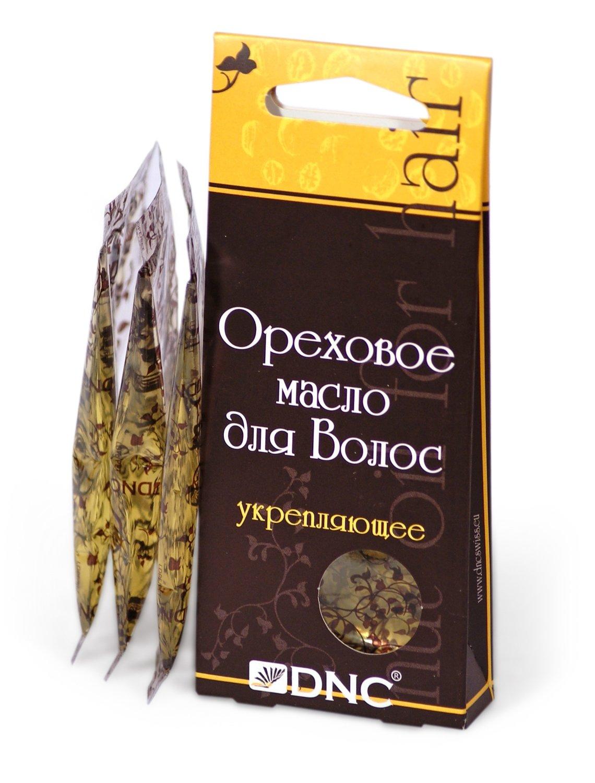 Ореховое масло для волос Укрепляющее, DNC, 3*15мл