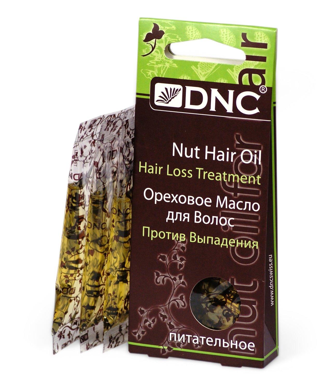 Ореховое масло для волос Питательное (Против выпадения), DNC, 3*15мл