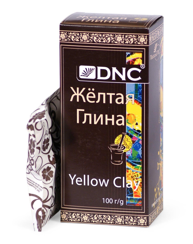 Глина косметическая желтая, DNC, 100гр