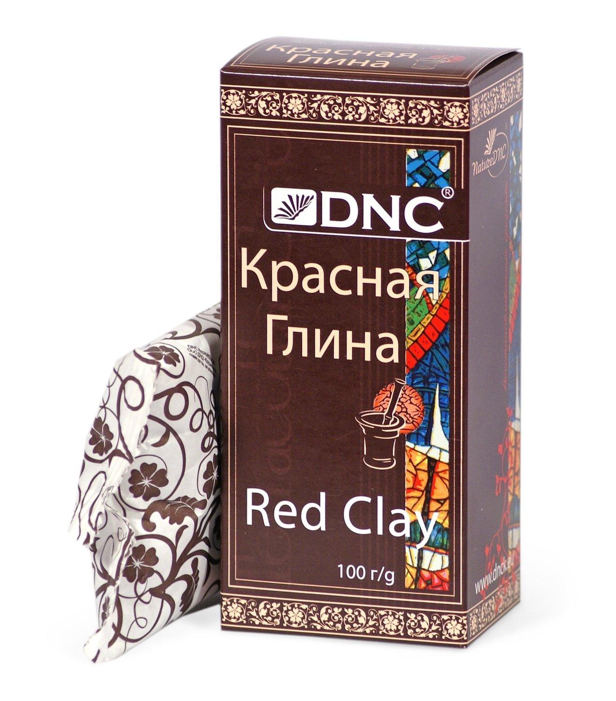 Глина косметическая красная, DNC, 100гр