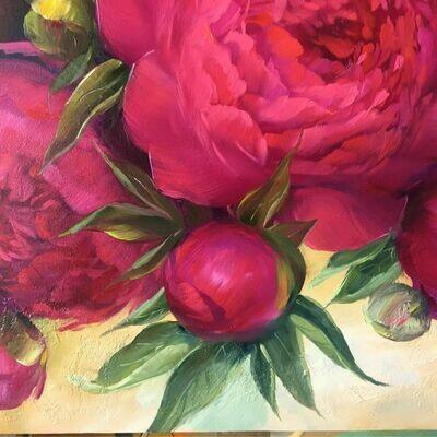 06/02/20, чт. в 19-00 АRT АПЕРИТИВ с художником в центре Москвы, картина маслом -