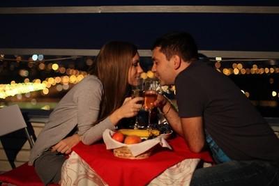 Незабываемый и романтический вечер для двоих на высоте 54 метров!