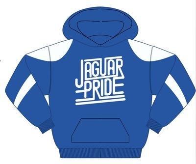 Holloway Prospect hoodie -JAGUAR PRIDE - WHTIE IMPRINT