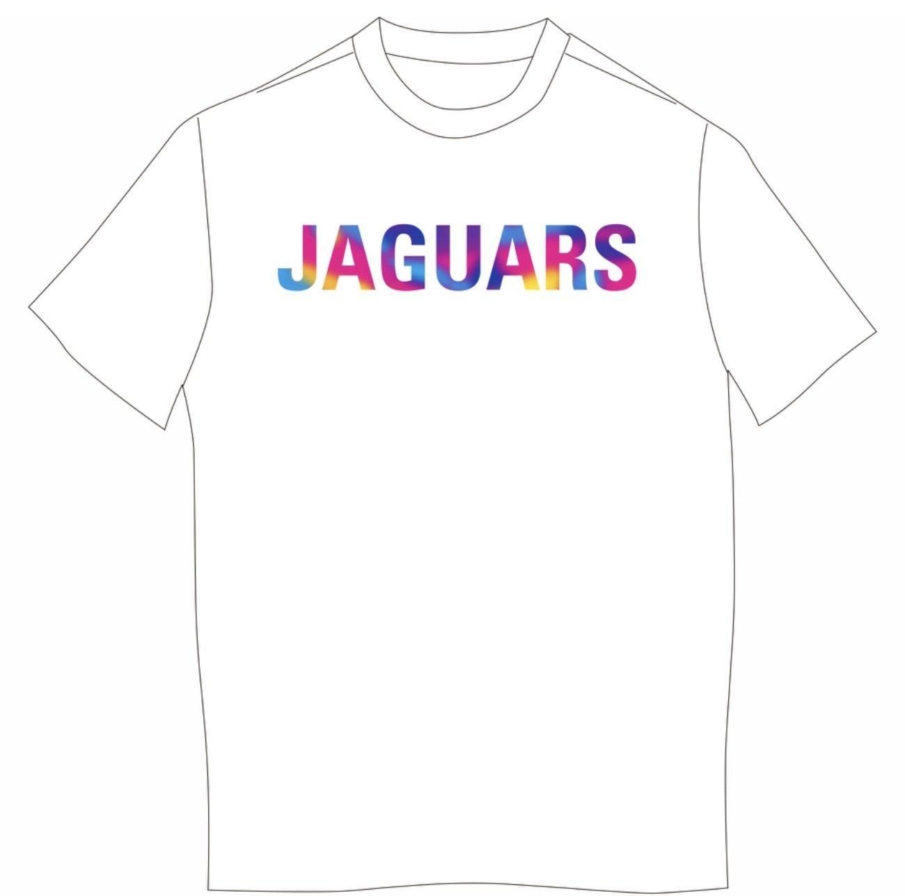 4-Color JAGUARS Next Level SHORT sleeved T-shirt