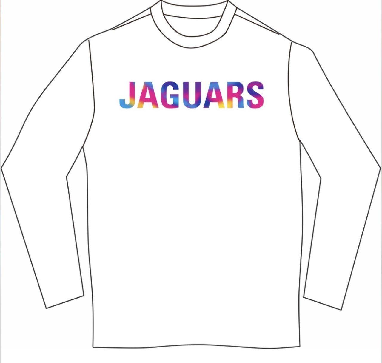 4-COLOR JAGUAR  Long sleeved T-shirt