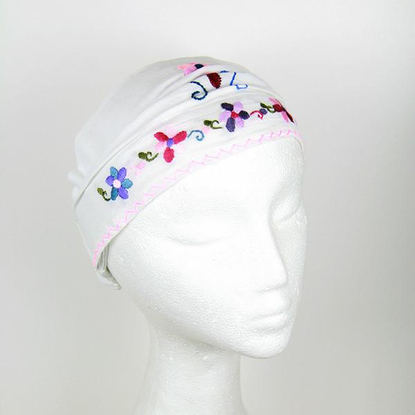 Children's Embroidered Headscarf