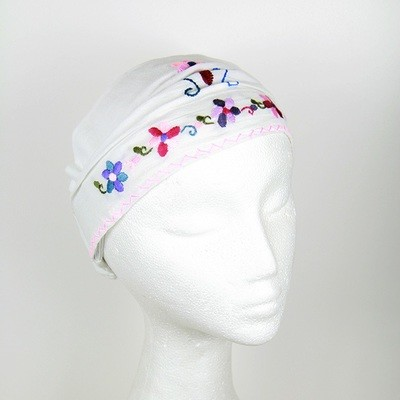 Children's Embroidered Headscarf