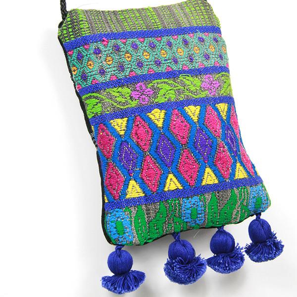 Guatemalan Pompom Bag