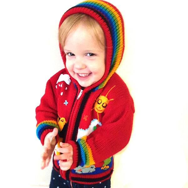 Embroidered Zip-up Cardigans 2yrs