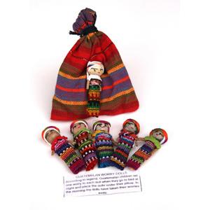 Set of Large Worry Dolls