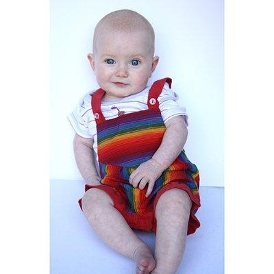Cotton Baby Shortalls