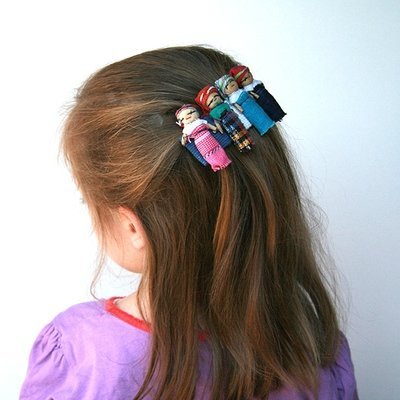 Worry Doll Hair Clip