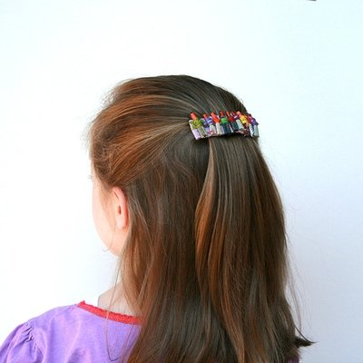 Worry Doll Hair Clip Mini- FREE POSTAGE
