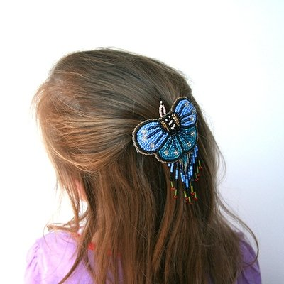 Butterfly Hair Clip- ON SALE- 5 FOR $25!