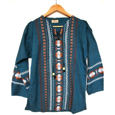 Guatemalan Cotton Top (Unisex)- PRICED TO CLEAR!