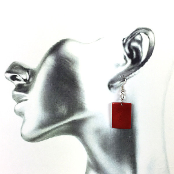 Tagua Earrings- FREE POSTAGE!