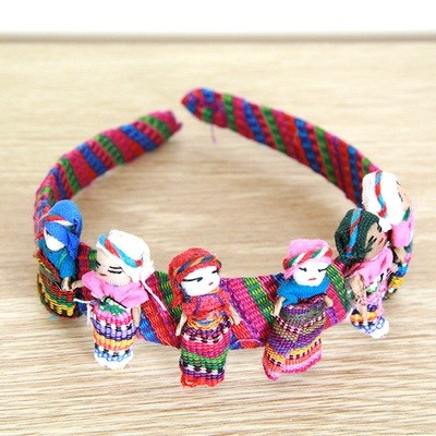 Worry Doll Headband- large