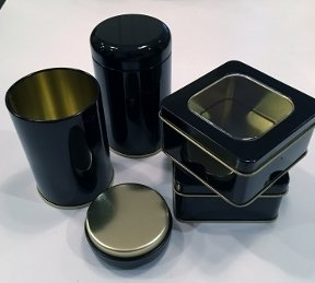 Tea Tins, Small