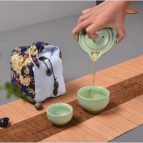 Tea for Two Travel Tea Set