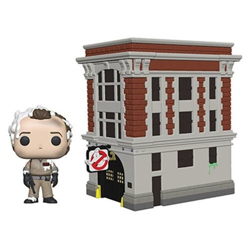 PRE-ORDER Ghostbusters Peter Venkman with House Pop! Vinyl Figure Movie Moments
