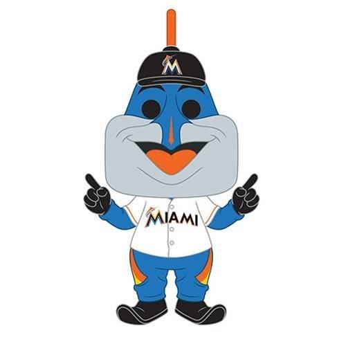 PRE-ORDES MLB Miami Marlins Billy the Marlin Pop! Vinyl Figure