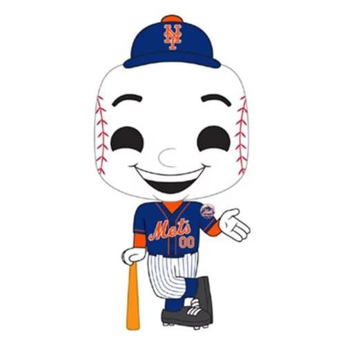 PRE-ORDES MLB New York Mets Mr. Met Pop! Vinyl Figure