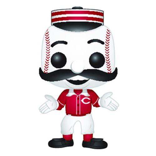 PRE-ORDES MLB Cincinnati Reds Mr. Redlegs Pop! Vinyl Figure