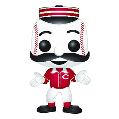 MLB Cincinnati Reds Mr. Redlegs Pop! Vinyl Figure