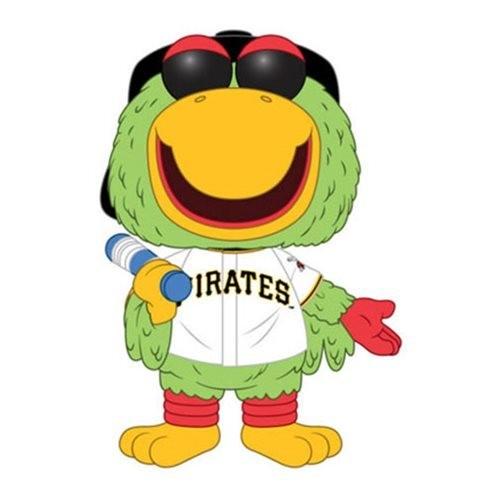 PRE-ORDES MLB Pittsburgh Pirates Pirate Parrot Pop! Vinyl Figure