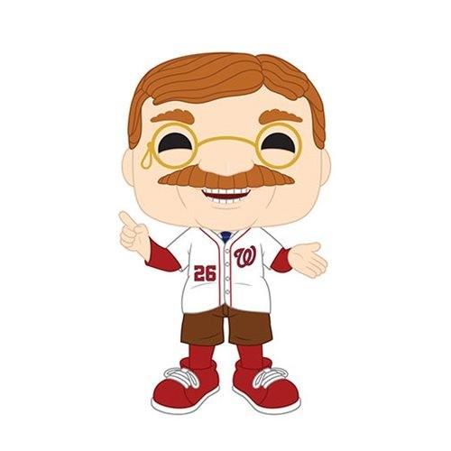 PRE-ORDES MLB Washington Nationals Teddy Roosevelt Pop! Vinyl Figure