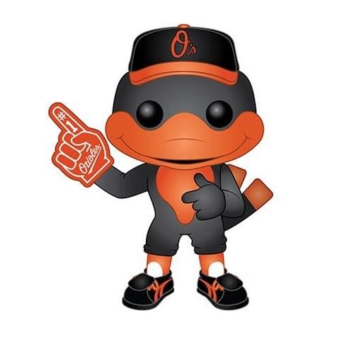 PRE-ORDES MLB Baltimore Orioles The Oriole Bird Pop! Vinyl Figure