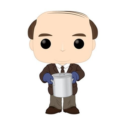 PRE-ORDER The Office Kevin Malone with Chili Pop! Vinyl Figure