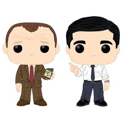 PRE-ORDER The Office Toby vs Michael Pop! Vinyl Figure 2-Pack