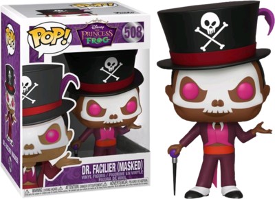 PRE-ORDER The Princess and the Frog - Dr. Facilier with Mask Pop! Vinyl Figure
