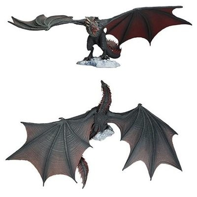 PRE-ORDER Game of Thrones Drogon Deluxe Action Figure Box