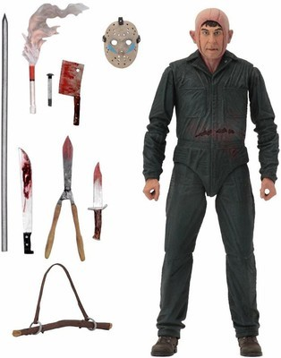 PRE-ORDER  Friday the 13th Part 5: A New Beginning Roy Burns Action Figure