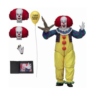 PRE-ORDER IT 1990 Miniseries Pennywise Action Figure