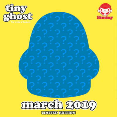 PRE-ORDER Tiny Ghost March 2019 Limited Edition