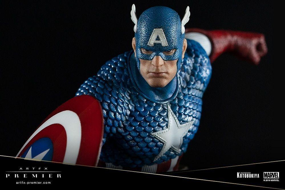 PRE-ORDER Marvel ArtFX Premier Captain America Limited Edition Statue