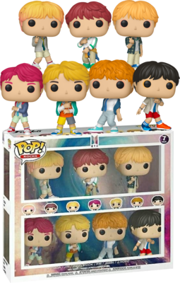 Exclusive BTS - BTS Pop! Vinyl Figure 7-Pack
