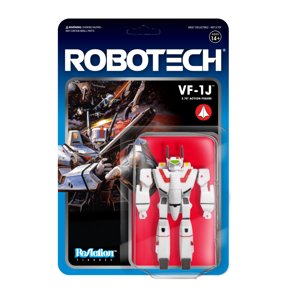 "PRE-ORDER Robotech VF-1J 3.75"" Reaction Figure"