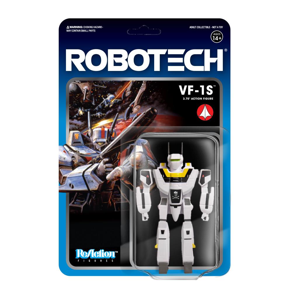 """PRE-ORDER Robotech VF-1S 3.75"""" Reaction Figure"""