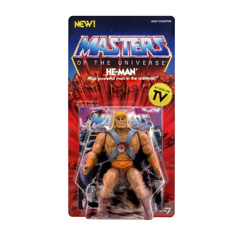 PRE-ORDER MASTERS OF THE UNIVERSE VINTAGE WAVE 1 He-Man