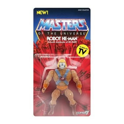 PRE-ORDER MASTERS OF THE UNIVERSE VINTAGE WAVE 2 Robot He-Man
