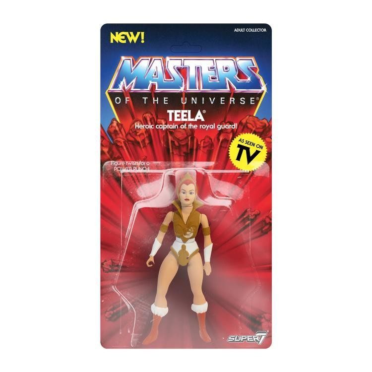 PRE-ORDER MASTERS OF THE UNIVERSE VINTAGE WAVE 2 Teela