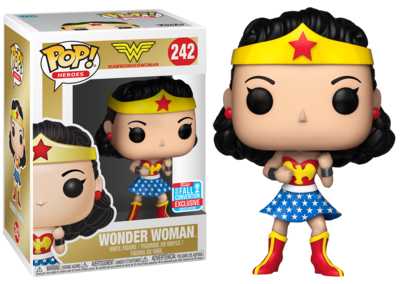 PRE-ORDER Exclusive Wonder Woman - Wonder Woman First Appearance Pop! Vinyl Figure (2018 Fall Convention Exclusive)