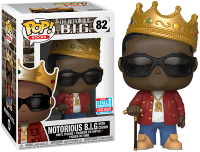 PRE-ORDER Exclusive Notorious B.I.G. - Notorious B.I.G. with Crown Pop! Vinyl Figure (2018 Fall Convention Exclusive)